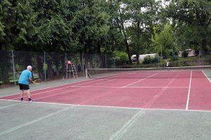 Tennisbaan Verdoyer